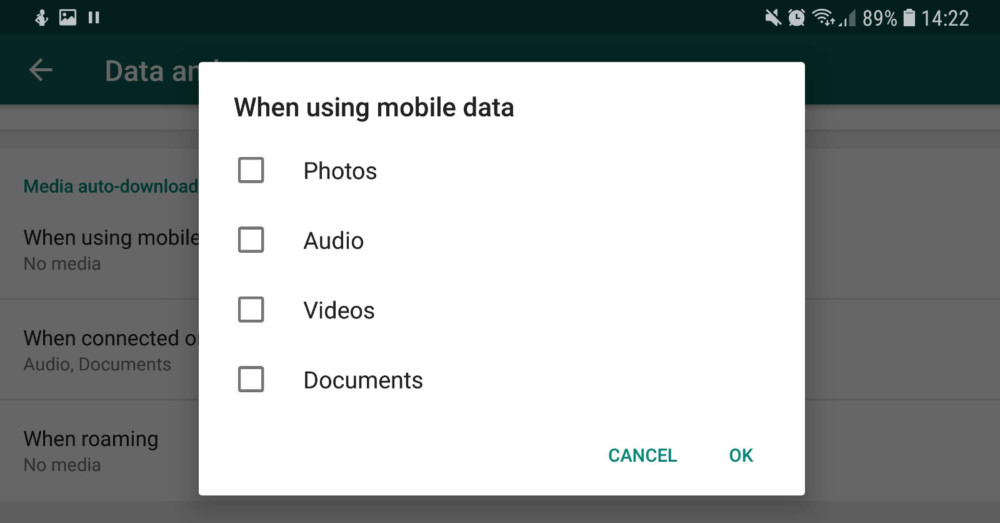 WhatsApp Tricks and tips: download option