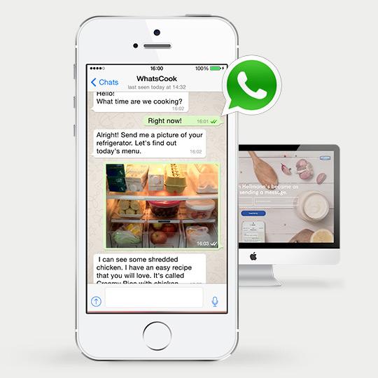 Hellmanns' WhatsCook WhatsApp campaign as WhatsApp Marketing