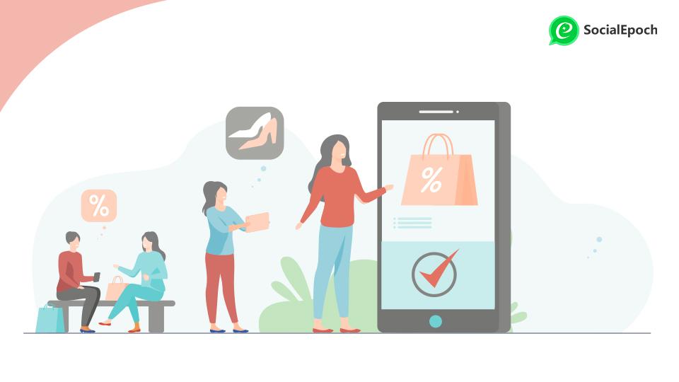 User profile for e-commerce