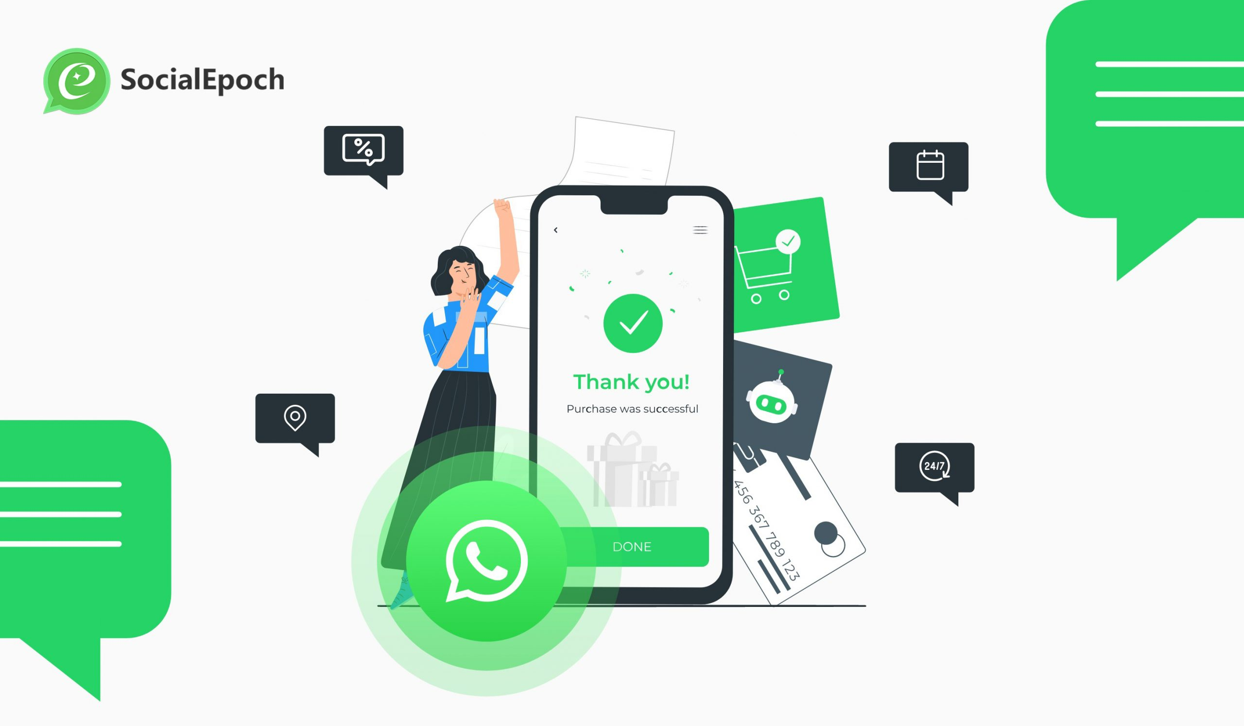 WhatsApp as  B2C2B marketing platform