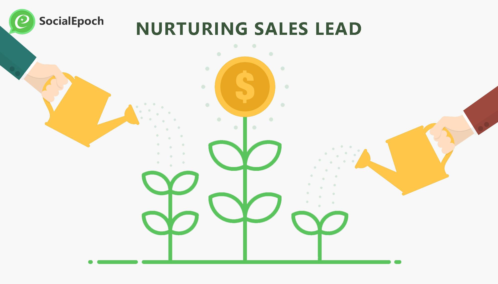 nurture sales lead