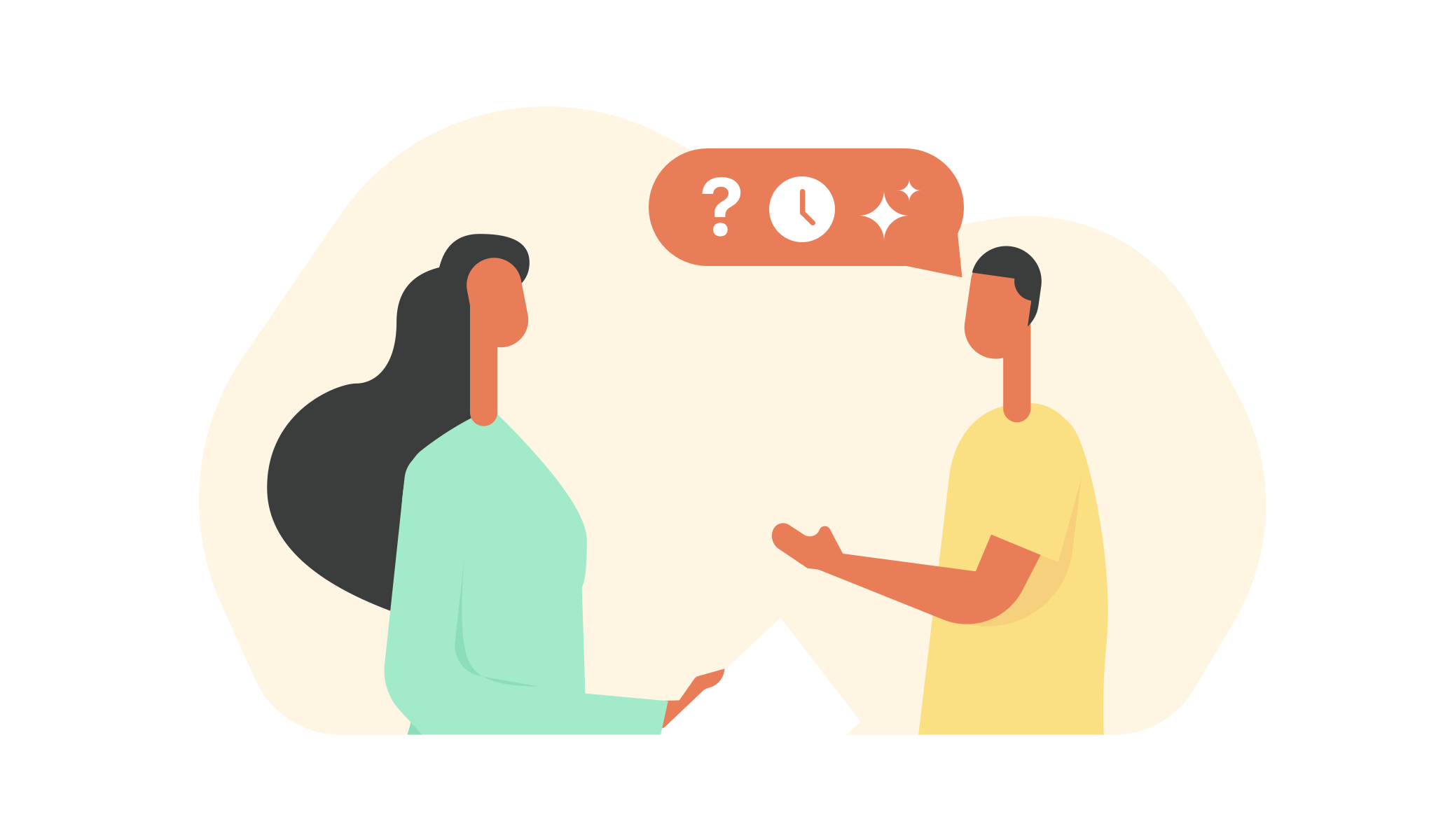 Losing Credibility With Customers with no feedbacks or surveys
