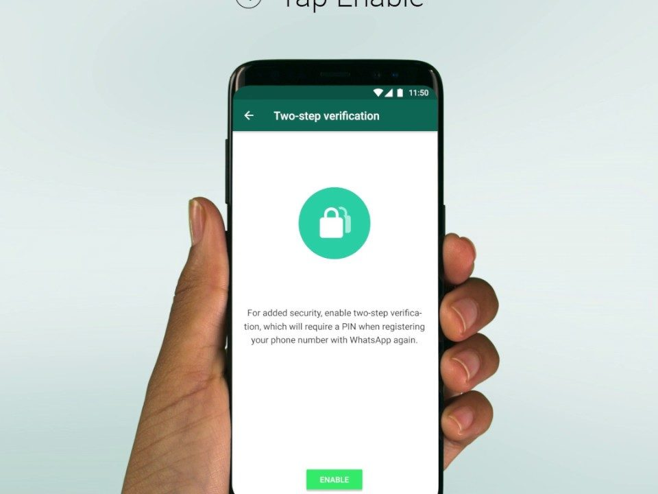 WhatsApp a secure tool, with two factor authentication