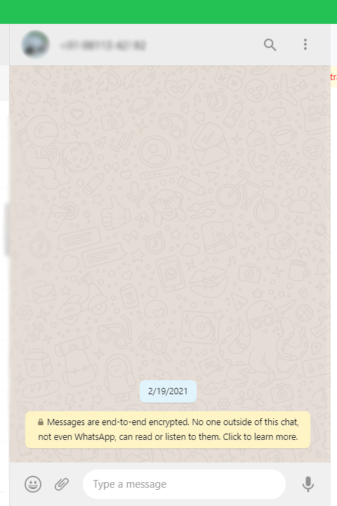 WhatsApp a secure tool, with End-to-end encryption