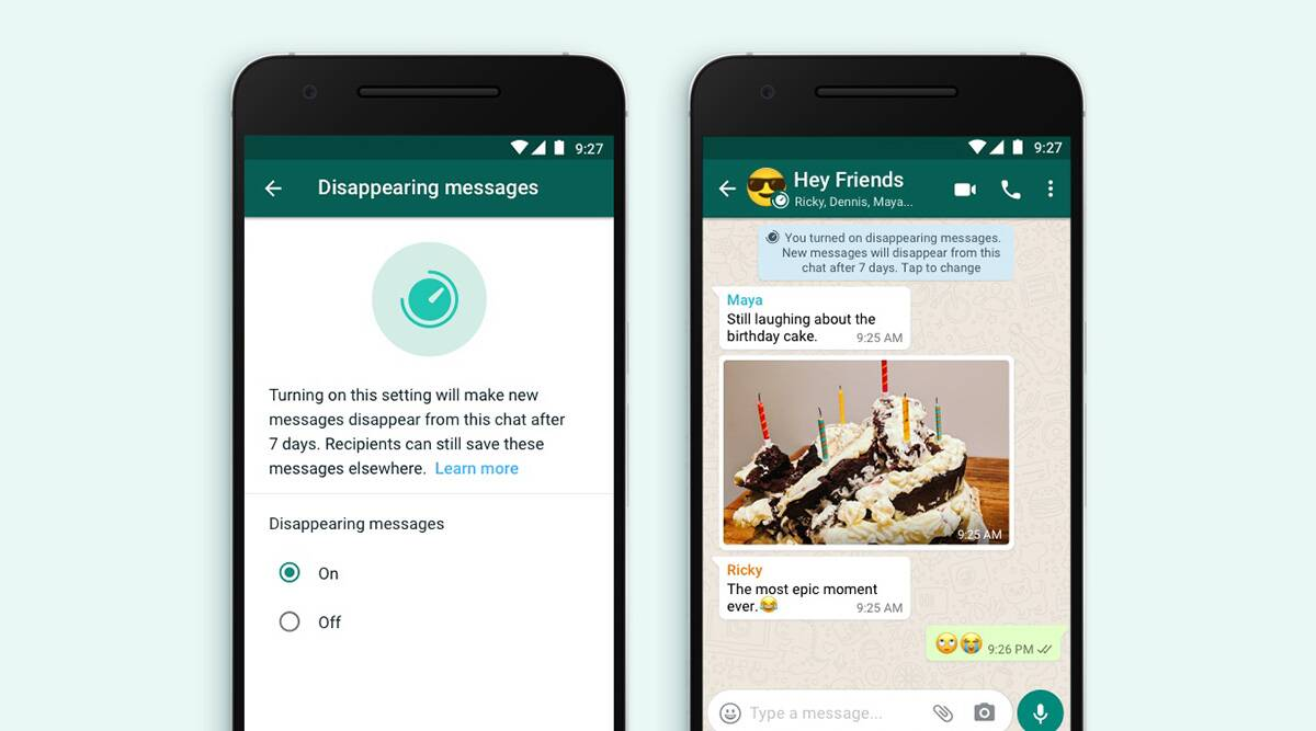 WhatsApp a secure tool, with disappearing feature