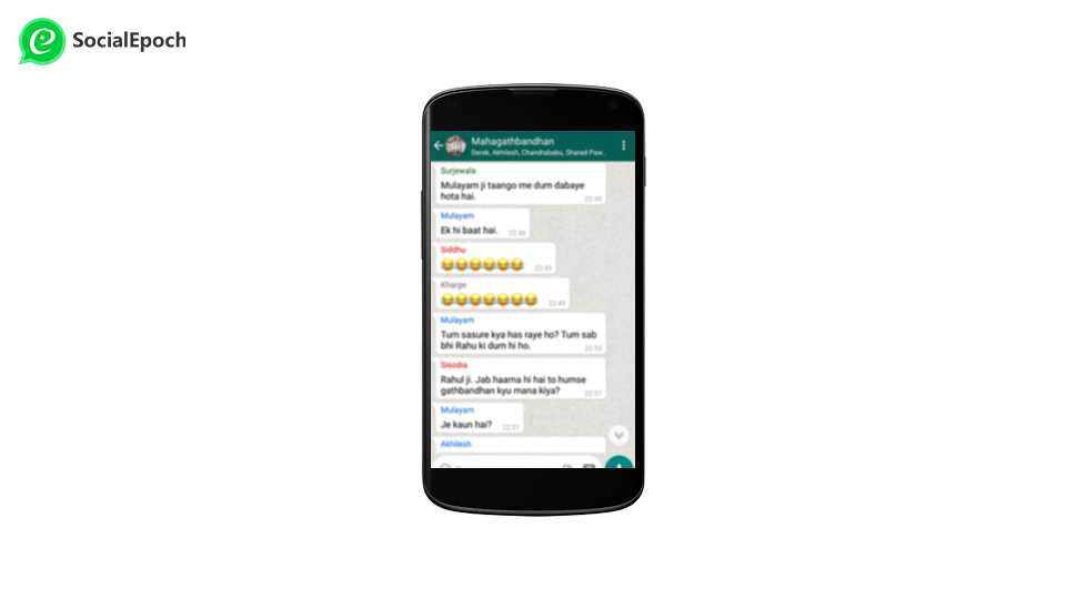 Advertise using WhatsApp through group chat